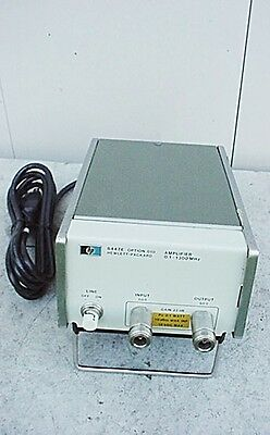 H.P. 8447E RF POWER AMPLIFIER with OPTION 010