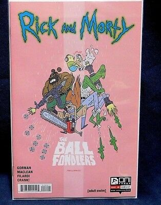 Rick and Morty Issue #6 1st Variant Printing *We Combine Shipping*