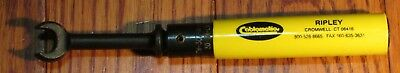 Ripley Cablematic Angle Head 7/16 (30 in-lb) Torque Wrench TW-307-AH/B used
