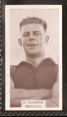 Wills Australian-Aussie Rules Footballers 1933-#176- Brighton - S Clough
