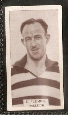 Wills Australian-Aussie Rules Footballers 1933-#179- Oakleigh - E Fleming