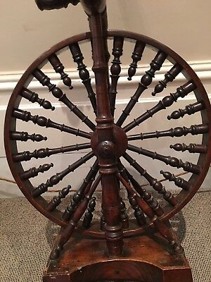 SMALL 19th CENTURY WELSH SPINNING WHEEL