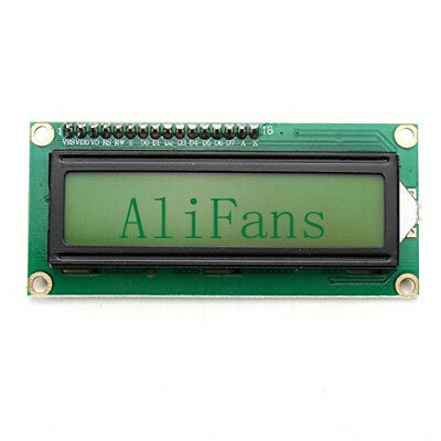 IIC/I2C/TWI/SP​​I Serial Interface 1602 16X2 Character LCD Module Display Yellow