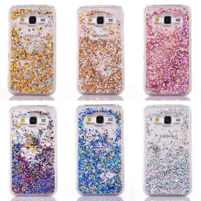 Bling Glitter Design Flowing Liquid Case Cover For Samsung Galaxy S6/S6 Edge/S7