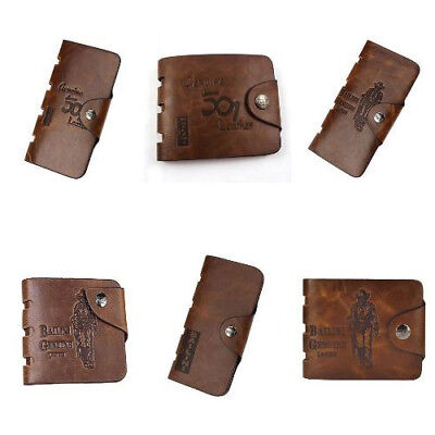 Catalina Genuine Leather Credit ID Card Wallet Purse For Men's