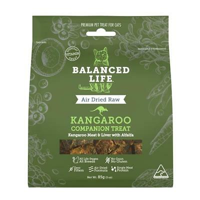 Balanced Life - Air Dried Raw Kangaroo Cat Treats Pet Supplies