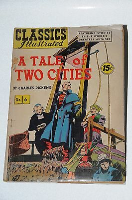 """CLASSICS ILLUSTRATED """"A Tale of Two Cities"""""""