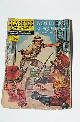 """CLASSICS ILLUSTRATED """"Soldiers of Fortune"""" Comic Book"""