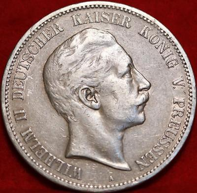 1902-A Germany 5 Marks Silver Foreign Coin Free S/H