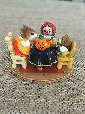 Wee Forest Folk - WFF Tea for Three Halloween Limited Edition Retired