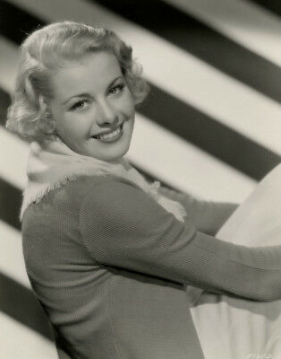 Charming Blonde Beauty Fine Joan Marsh Vintage 1934 Hollywood Pin Up Photograph