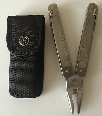 Victorinox Swiss Army Knife, Swisstool With Black Pouch 53905, New In Box