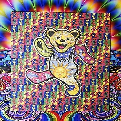 Psychedelic Blotter Art Print perforated sheet/paper 15x15 - Grateful Dea... New