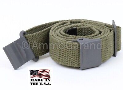 Sling Cotton Web OD Green USGI Style for M1 Garand Rifles & Shotguns US MADE