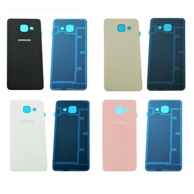 New Rear Back Battery Cover Glass + Adhesive OEM Samsung Galaxy A3 2016 SM-A310F