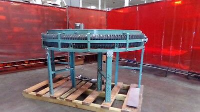 "Transnorm 180 Degree 16"" Wide Belt Conveyor Type TS1500/100"