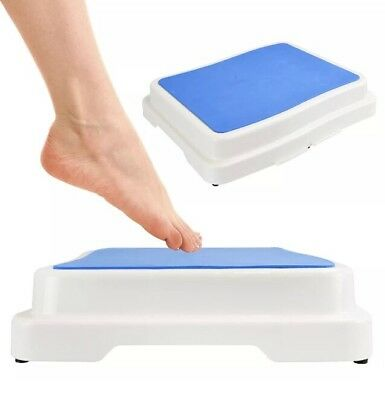 """4"""" Stackable Kids Xl Step Stool Safety Aid Disability Non Slip Shower Door Step"""