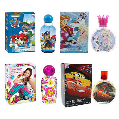 Disney Frozen EDT 100ml Soy Luna EDT 100ml Cars EDT 100ml Paw Patrol EDT 100ml