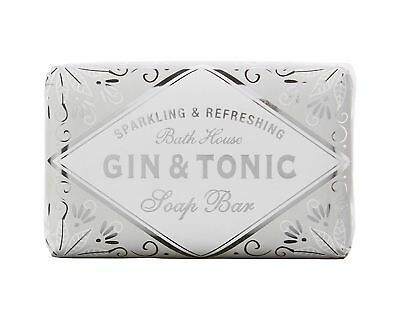 Cocktail Collection Gin & Tonic G & T Scented Soap Bar by Bath House