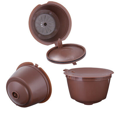 3x Refillable Reusable Office Ground Coffee Capsules Pods for DOLCE GUSTO HS890