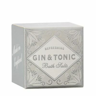 Cocktail Collection Gin & Tonic Scented Bath Salts Box 100g by Bath House