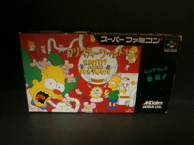 KURISTY'S SUPER FUN HOUSE Nintendo Super Famicom SFC Japan Game