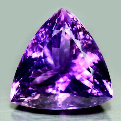 28.98 Ct Natural! Purple Clr Change To Pink Brazilian Amethyst Trillion
