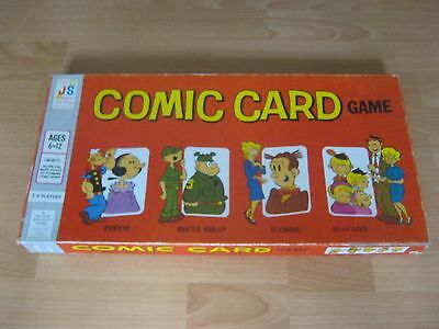 Comic Card Game - Score The Most Points By Forming Comic Strip Cards - 1973