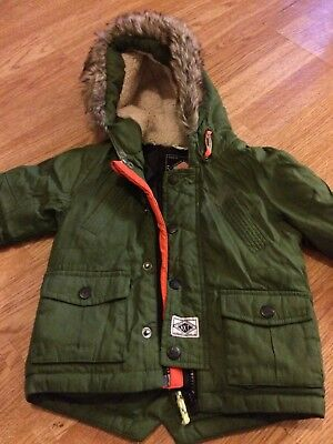 Boys Coat Jacket From Next 6-9 Months