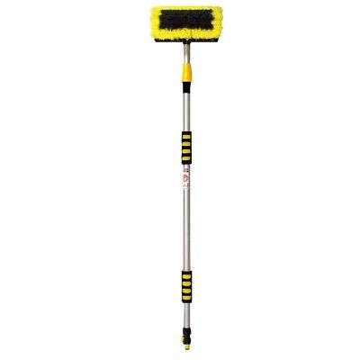 Telescopic Wash Brush 130cm For Hard To Reach Places Water Feed Extended