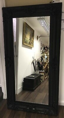 Superb & Very Stylish Large Mirror In A Black Frame. Open To Offers.