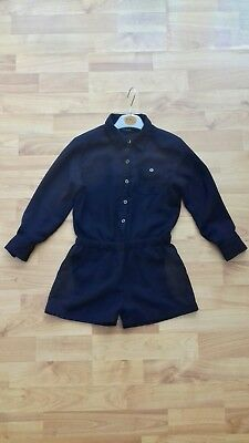 Girls Next navy blue,long sleeve party season playsuit age 5 years(4-5)