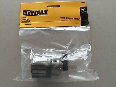 "DeWalt DW5353 1/2"" Chuck and Key New In Package"