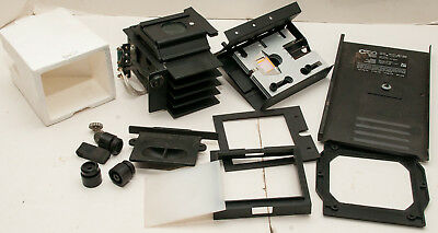 Box Lot Of 23 Omega C760 Modular Dichroic Color Head Photo Enlarger Parts