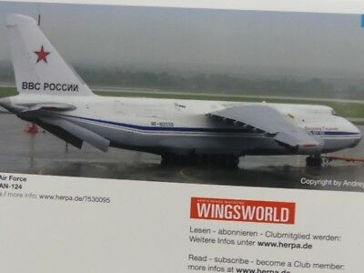 1/500 Herpa Russian Air Force Antonov AN-124 530095