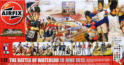 The Battle Of Waterloo Diorama Komplett Set 1:72 Model Kit Bausatz Airfix A50174