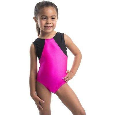 New! Competition Quality Girl Gymnastics Leotard Toddler to Girl Sizes