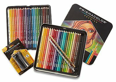 Prismacolor Premier Colored Pencils Soft Core 48 + Prismacolor Premier Sharpener
