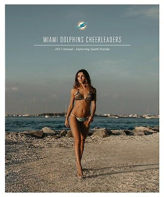 Miami Dolphins Cheerleader Book 2017-2018 The Annual - Swimsuit Models