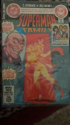 Superman Family #214_January 1982_Fine+_Bronze Age Dc Giant Dollar Comic!
