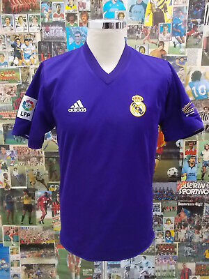 maglia calcio shirt maillot camiseta trikot REAL MADRID TG S DOUBLE FACE