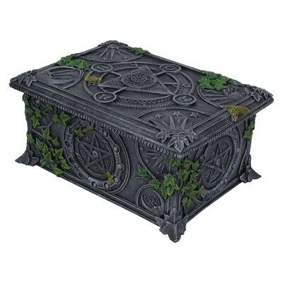 New Pentagram Tarot Card Box Pagan Wiccan Wicca From Nemesis Now B2540