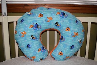 Boppy Pillow Cover M/w Finding Nemo Fabric