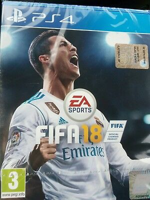 Gioco FIFA 18 Electronic Arts per Console Sony Playstation 4 PS4 - Cod. 1034481