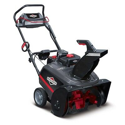 "Briggs & Stratton 22"" 250cc Single Stage Electric Start Gas Snow Thrower 1696741"