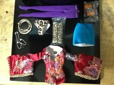 """Sybarite Outfit & Accessories: Fit Only """"vinyl"""" Sybarite Superfrock Superdoll"""