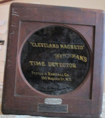 Cleveland Magneto Watchman's Time Detector