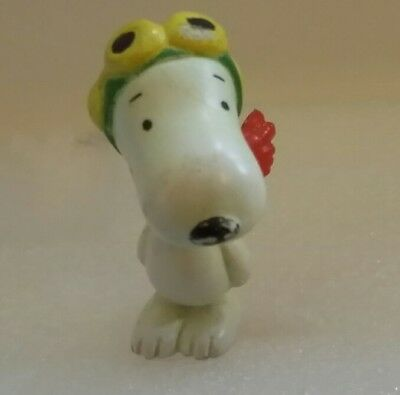 Vintage 1985 Snoopy Flying Ace Figure