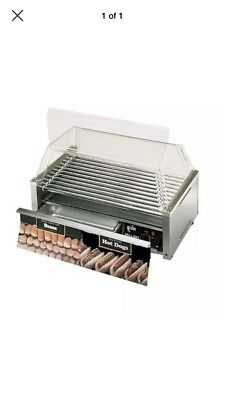 Hot Dog Roller 50 dog Grill-Max Pro By Star Manufacturing new top spare motor