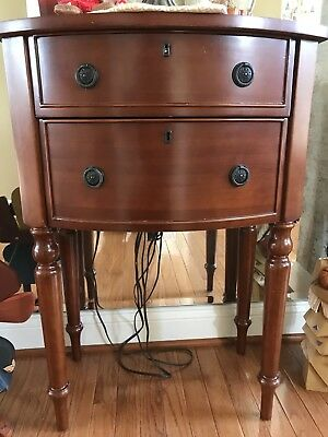 Bombay Company Table with 2 drawers